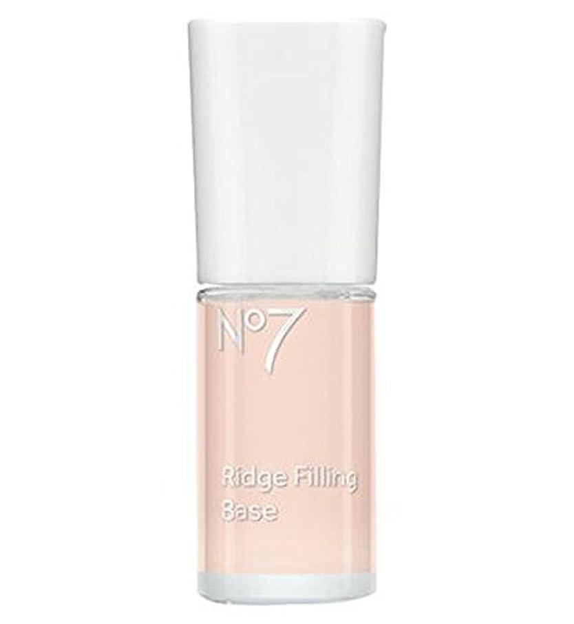 ボトルネック行商姿勢No7 Ridge Filling Base 10ml - No7リッジフィリングベース10ミリリットル (No7) [並行輸入品]