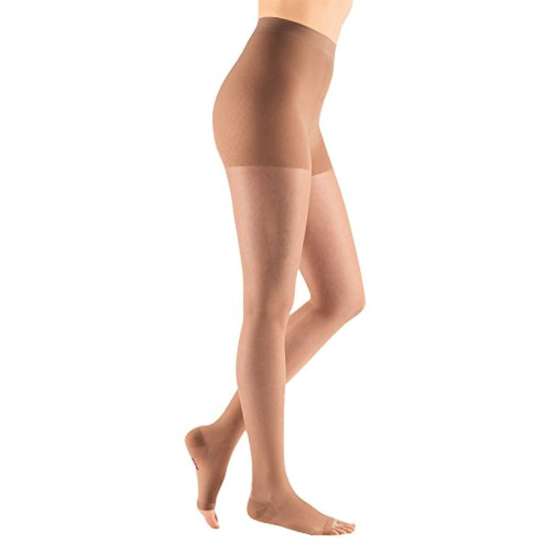 クリアに対して名声Medi Sheer&Soft Pantyhose 15-20mmHg Open Toe, IV, Natural by Medi