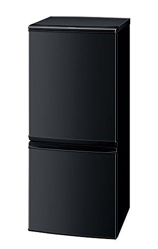 シャープ 冷蔵庫 つけかえどっちもドアタイプ 137L ブラック SJ-D14B-B