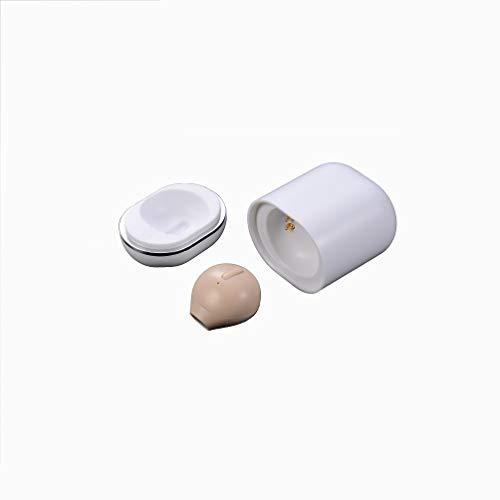 (隠し版) Bluetooth イヤホン 片耳 超軽量3g Bluetooth ヘッドセット 片耳【IPX5防水/左右耳兼用/4.2+EDR搭載/充電収納ケース付き/ワンボタン設計/マイク内蔵/自動OFF/技適認証済】Android/iPhone/iPad各種対応 日本語説明書(肌の色)
