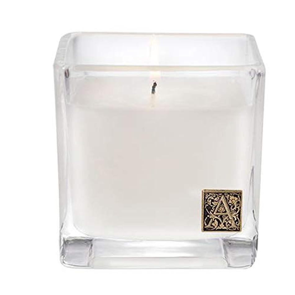 のぞき穴フライカイト実現可能性Aromatiqueホワイトチーク材and Moss 12 ozキューブCandle