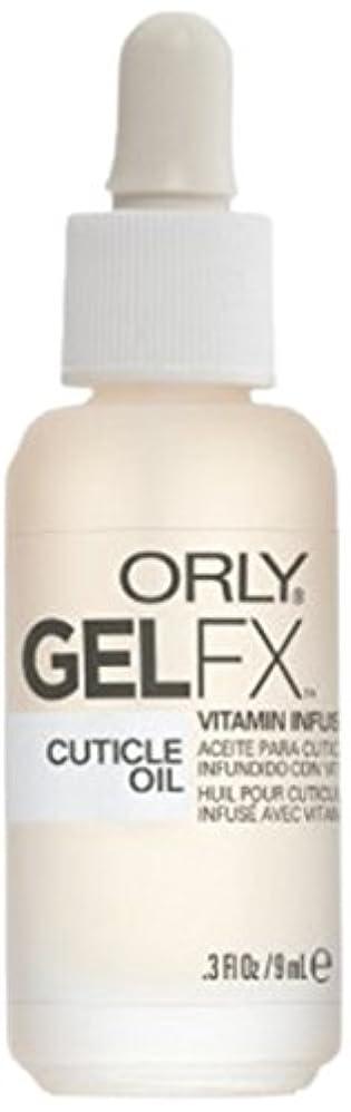 スーパーマーケット承認する静的ORLY(オーリー)ジェルFXキューティクルオイル 9ml #34555