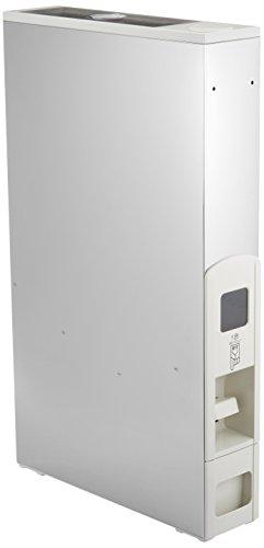 RoomClip商品情報 - マッキンリー 米びつ ステンレス 製 キャスター付 スリムライスボックス 12kg RN358A