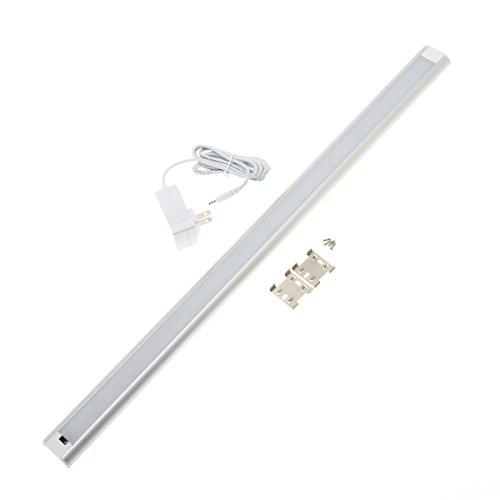 非接触スイッチ式LEDスリムバーライト 長さ 60cm 調光機能付 1~12W 30~630lm 4000K(白色) キッチン 手元...