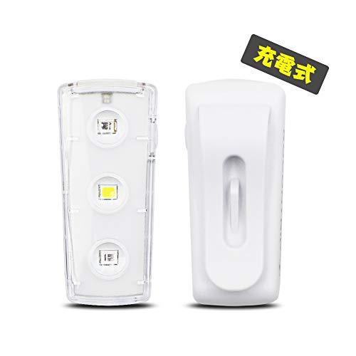 ROCONTRIPランニングライト LED充電式 USBジョ...