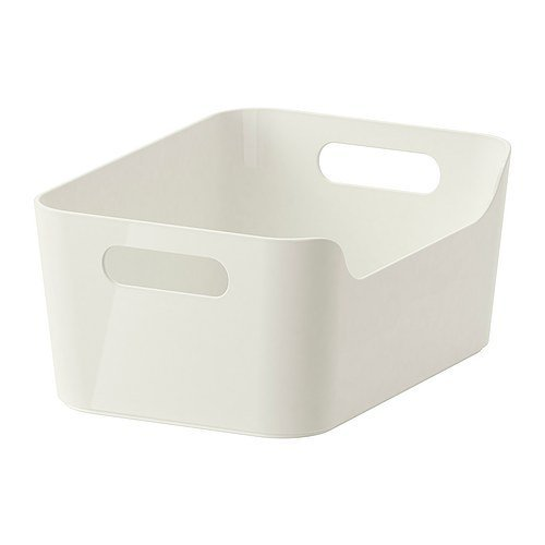 IKEA(イケア) RATIONELL VARIERA ホワイト 24x17 cm 30177257 ボックス、ホワイト