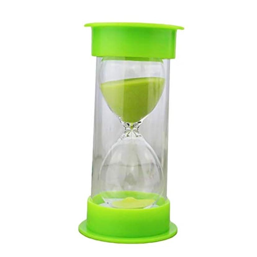 曲がった十進化30分砂時計タイマー学生クリエイティブギフトプラスチック安全砂時計漂流砂飾り-ランダム