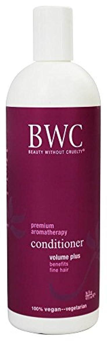 進むロマンス戸口Beauty Without Cruelty - コンディショナー ボリュームに加えて、からまる髪に - 16ポンド [並行輸入品]
