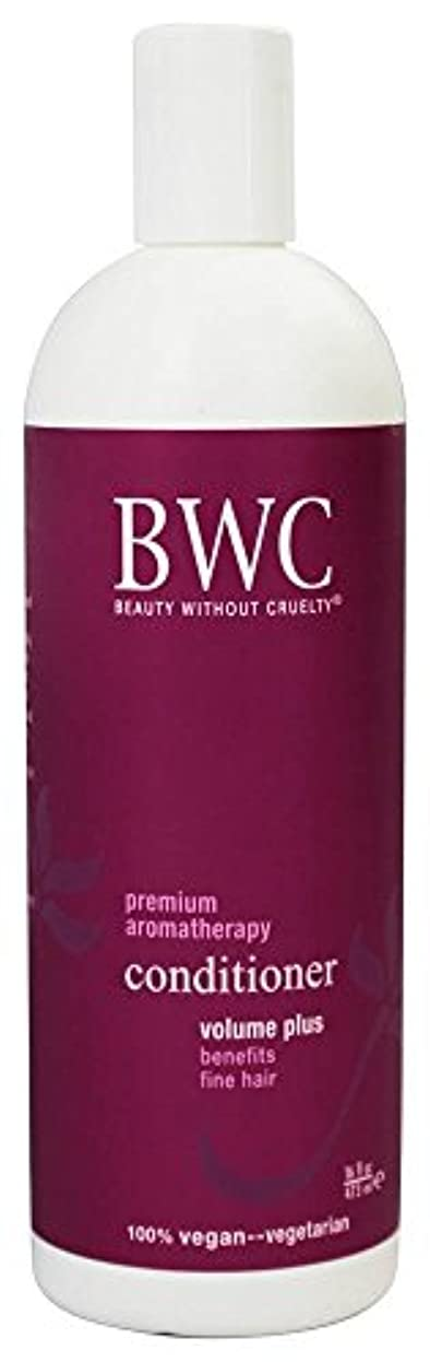 不注意印象的な咳Beauty Without Cruelty - コンディショナー ボリュームに加えて、からまる髪に - 16ポンド [並行輸入品]