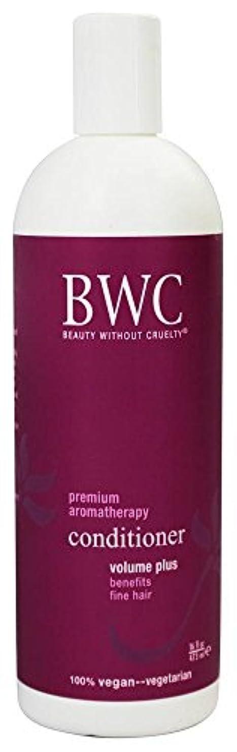 小説家対応する日付Beauty Without Cruelty - コンディショナー ボリュームに加えて、からまる髪に - 16ポンド [並行輸入品]