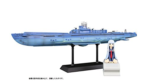 ぺあどっと 1/350 蒼き鋼のアルペジオ -アルス・ノヴァー 潜水艦 イ401 with イオナ ABS/PVC製 塗装済完成品 PD13