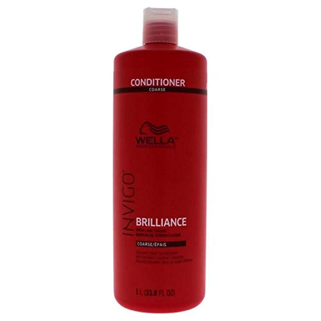 味方ラウンジ枯れるWella INVIGO Brilliance Conditioner for Course Hair - 33.8oz LITER 141[並行輸入]
