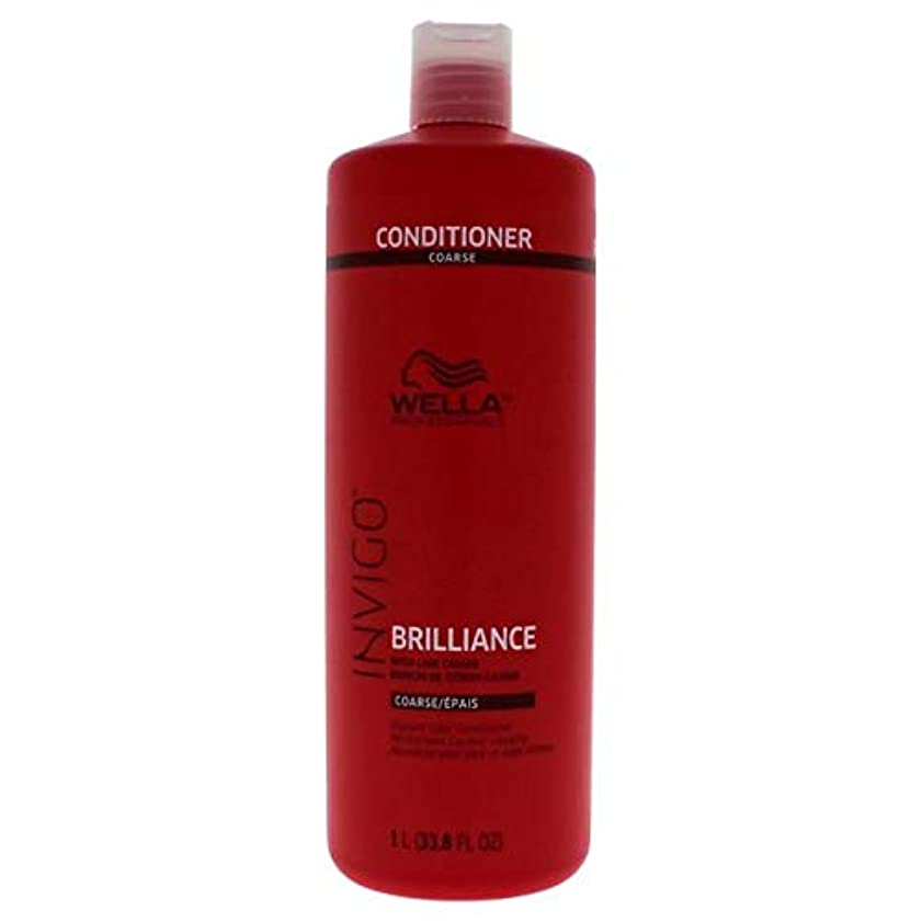 多様体ありふれた鉄道駅Wella INVIGO Brilliance Conditioner for Course Hair - 33.8oz LITER 141[並行輸入]