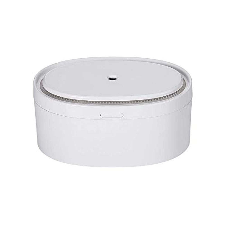 格納例恥ずかしいSOTCE アロマディフューザー加湿器電気エッセンシャルオイル超音波霧化技術満足のいく解決策 (Color : White)