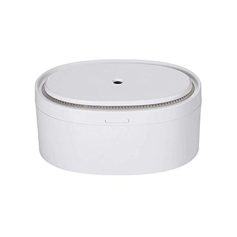 六落ち着いて反響するSOTCE アロマディフューザー加湿器電気エッセンシャルオイル超音波霧化技術満足のいく解決策 (Color : White)