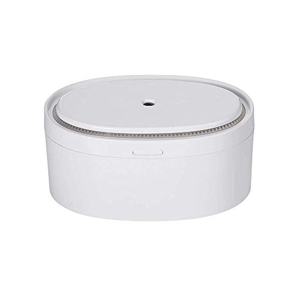 溶けた不毛シフトSOTCE アロマディフューザー加湿器電気エッセンシャルオイル超音波霧化技術満足のいく解決策 (Color : White)