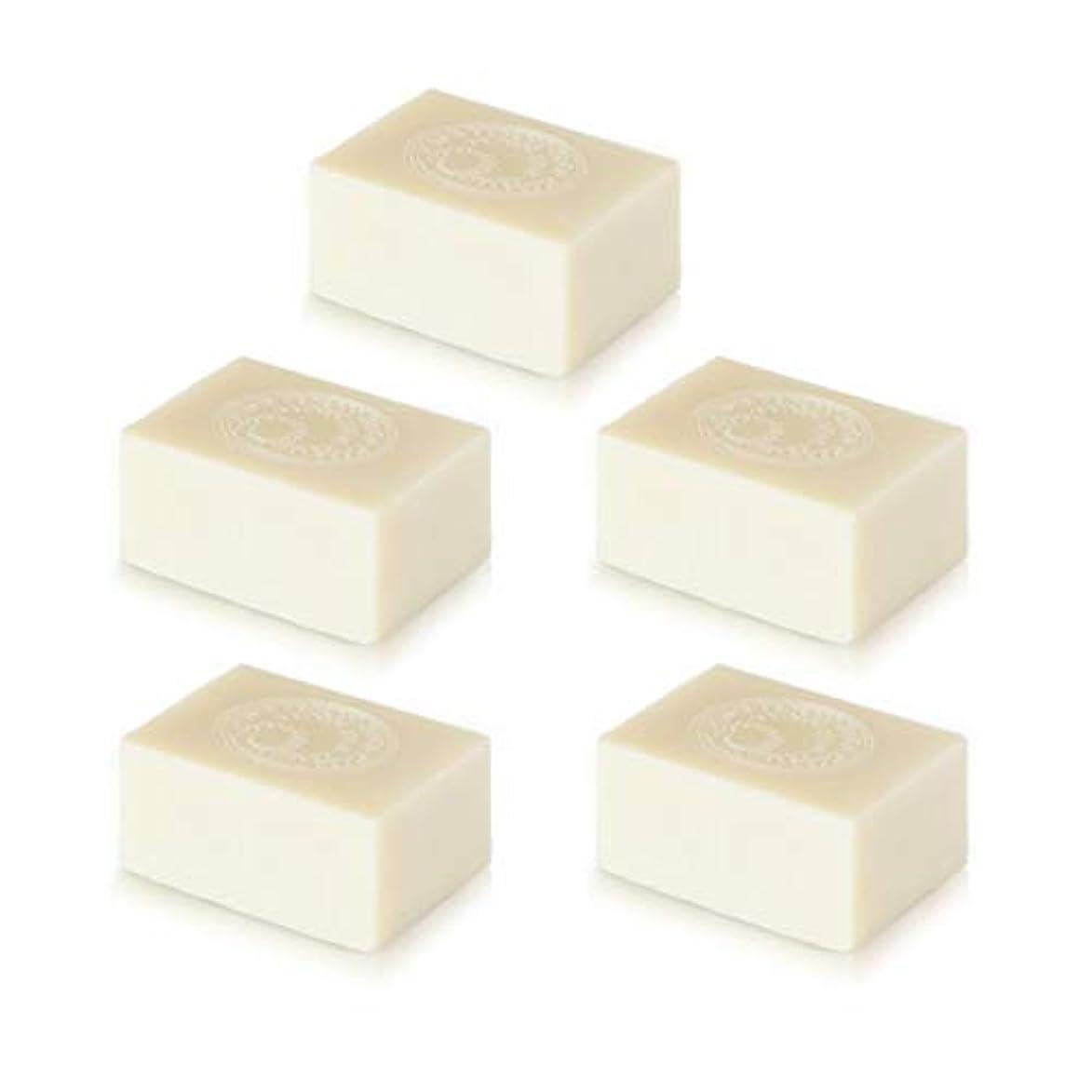 コンチネンタル不器用廃棄するナイアード アルガン石鹸5個セット( 145g ×5個)無添加アルガン石鹸
