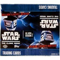 MLB Star Wars Clone Wars Rise of the Bounty Hunters Trading Cards
