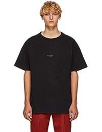 (アクネ ストゥディオズ) Acne Studios メンズ トップス Tシャツ Black Distressed Logo T-Shirt [並行輸入品]