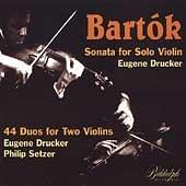 Bartok;Sonata for Solo Viol