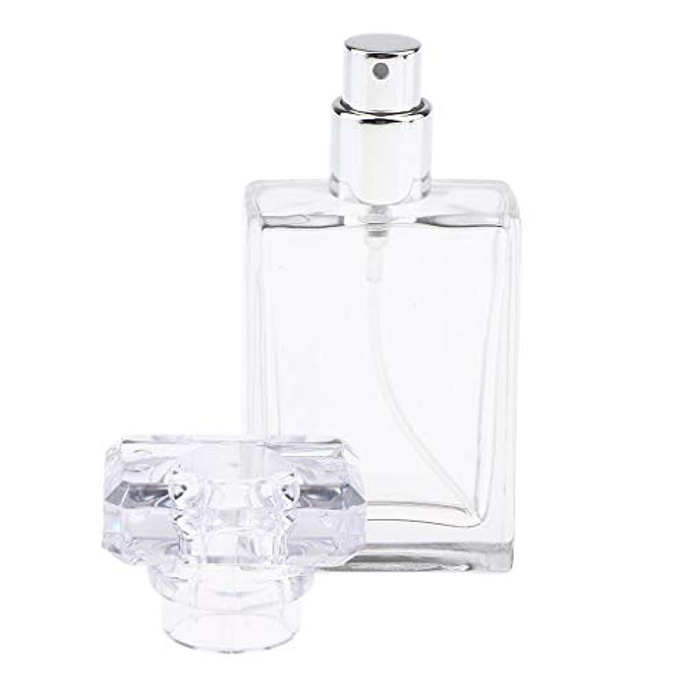 十分です同化演劇CUTICATE 香水瓶 アロマボトル 香水 小分けボトル ガラス製ボトル 30ミリリットル 全2色選択 - クリア