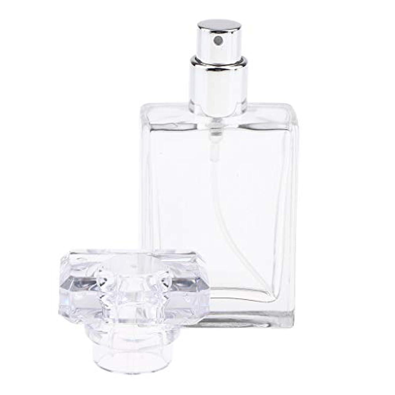 管理する翻訳オアシスCUTICATE 香水瓶 アロマボトル 香水 小分けボトル ガラス製ボトル 30ミリリットル 全2色選択 - クリア