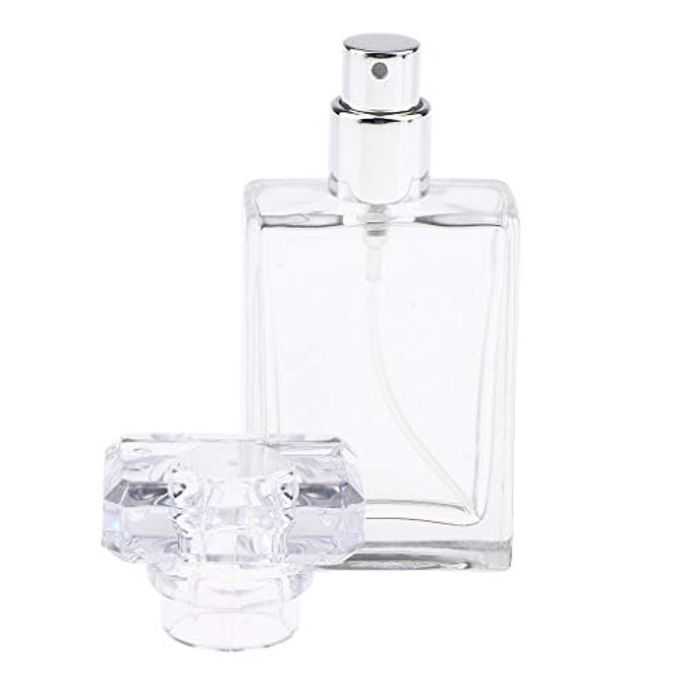 誠意追い払う行為CUTICATE 香水瓶 アロマボトル 香水 小分けボトル ガラス製ボトル 30ミリリットル 全2色選択 - クリア