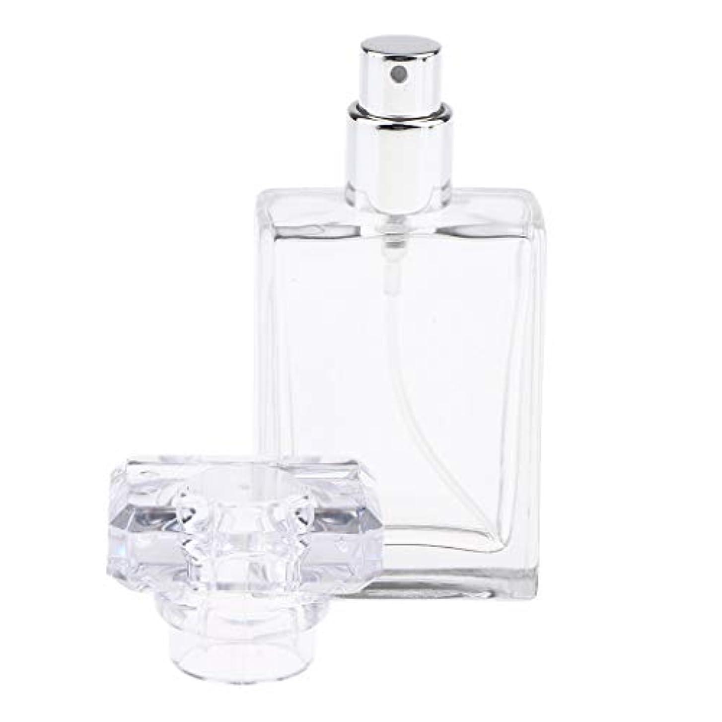 恥ずかしさ回転する貪欲CUTICATE 香水瓶 アロマボトル 香水 小分けボトル ガラス製ボトル 30ミリリットル 全2色選択 - クリア