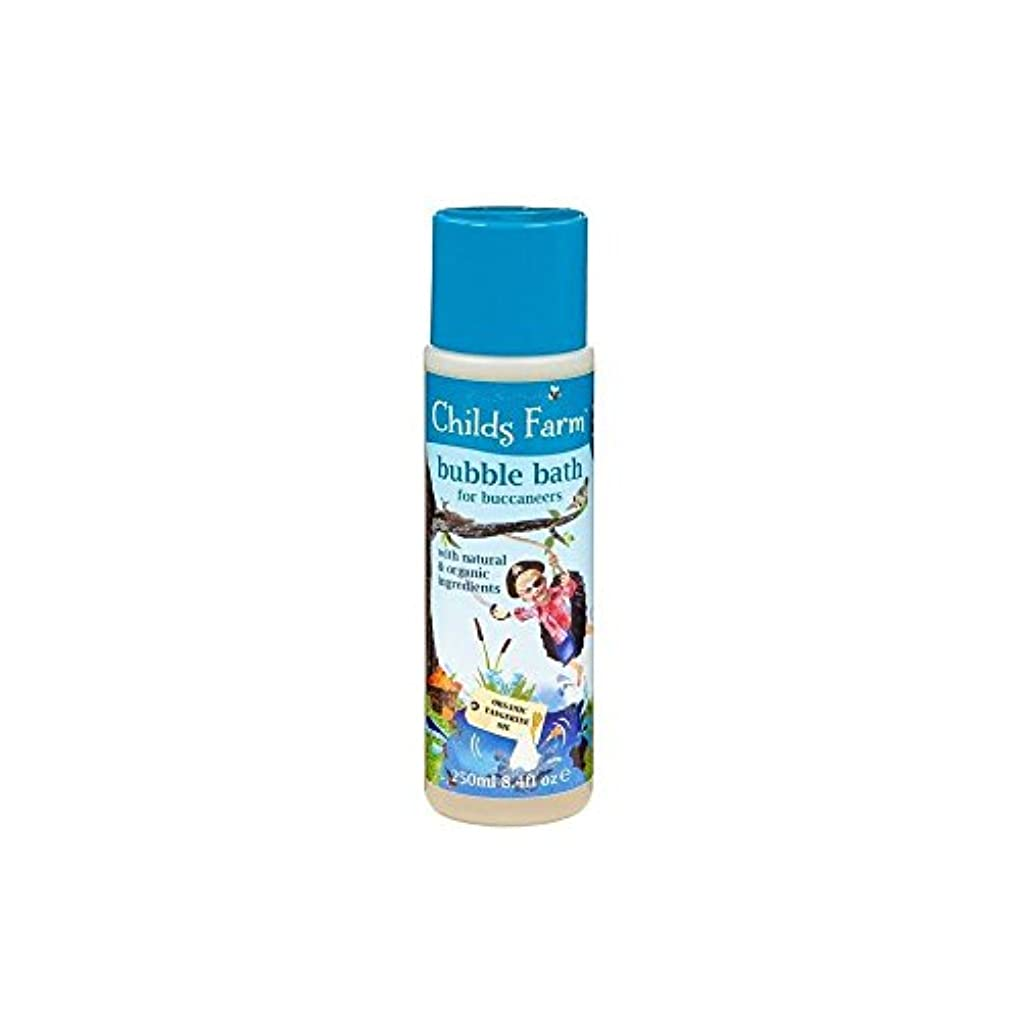 驚金貸し繊細Childs Farm Get Your Feet Wet! Bubble Bath for Bucanneers! (250ml) チャイルズファームは、あなたの足が濡れる! Bucanneersための泡風呂! ( 250...