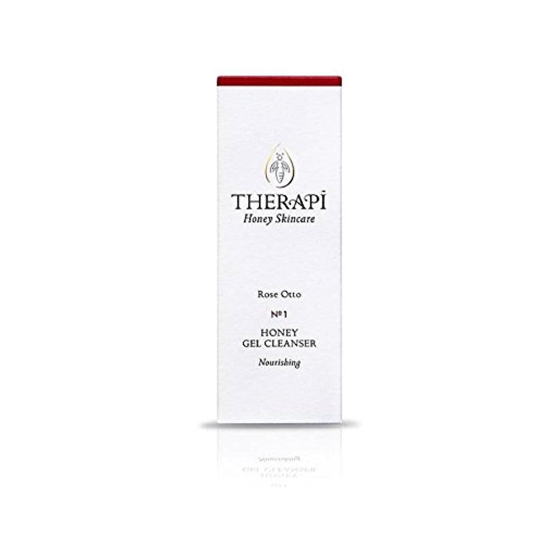 疑い者注入するアルカトラズ島蜂蜜ゲルクレンザーの100ミリリットルをオットーローズ (Therapi) (x 6) - Therapi Rose Otto Honey Gel Cleanser 100ml (Pack of 6) [並行輸入品]