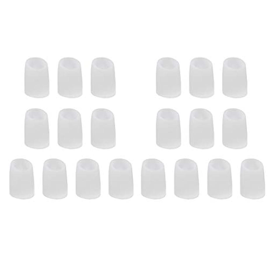 分布一般的に言えばディスカウントchiwanji 足指保護キャップ つま先プロテクター 洗える 便利 約20個セット 全2サイズ