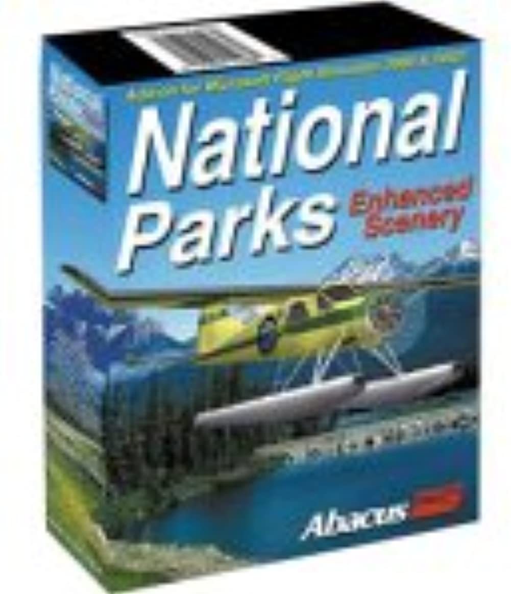 National Parks: Enhanced Scenery add-on for Microsoft Flight Simulator 2002 & 2000 (輸入版)