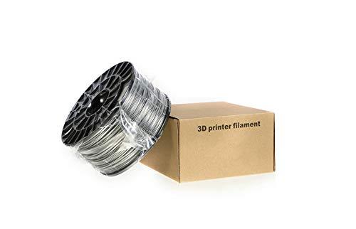 3Dプリンタ- 専用 フィラメント (PLA樹脂) 【銀】