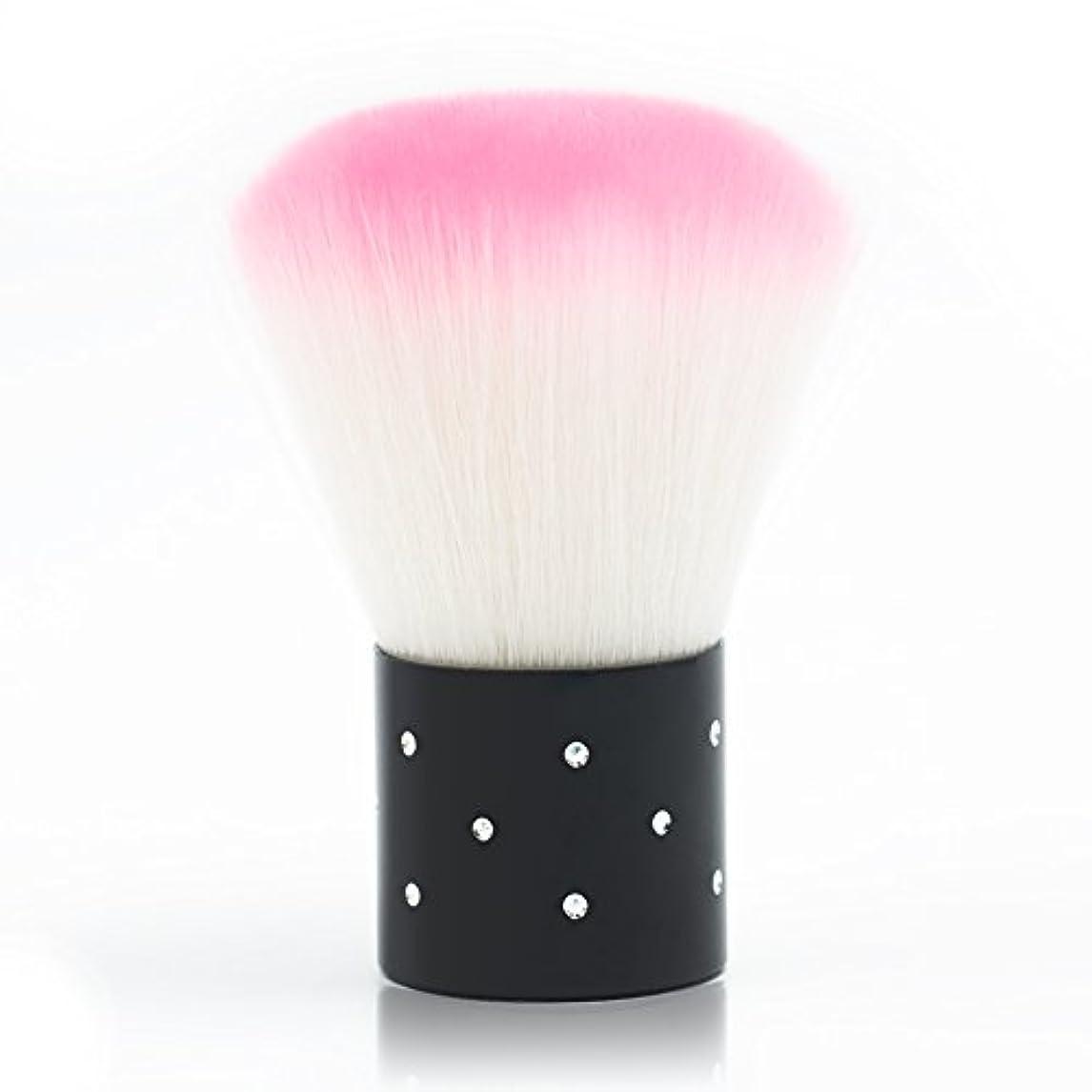 尊厳役職決めますメーリンドス マニキュア&メイクツール しなやかピンクダストブラシ 可愛いケア刷毛工具