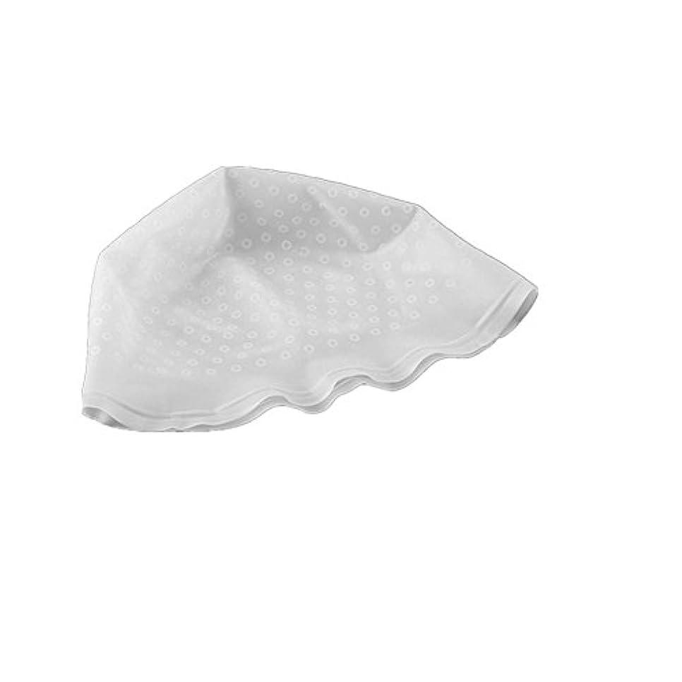 不格好余剰受賞AMAA 毛染め用 キャップ ヘアカラーキャップ 再利用可能 染め専用 ボンネット ヘアカラー (白)