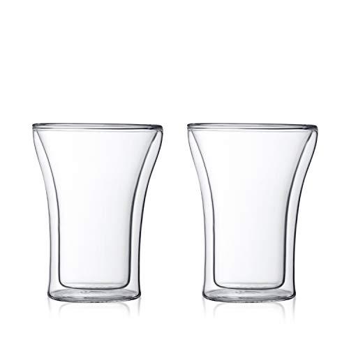 アッサム ダブルウォールグラス 0.25L(2個セット) 4556-10