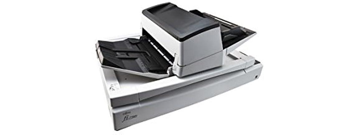 クラシカル抵当泣いているFujitsu fi-7700S 600 x 600 DPI Flatbed & ADF scanner Black, White A3
