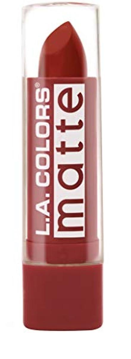 スプリットお互いおばあさんL.A. COLORS Matte Lip Color - Red Tango (並行輸入品)