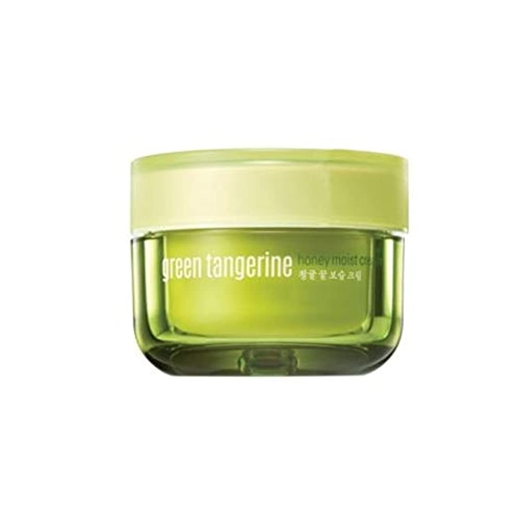 地味な安心させる学ぶGoodal Green Tangerine Honey Moist Cream グーダル チョンギュル(青みかん) ハニー モイスト クリーム [並行輸入品]