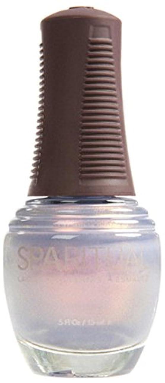 変装した光手綱SpaRitual スパリチュアル ネイルラッカー イッツ レイニング マン15ml #80367