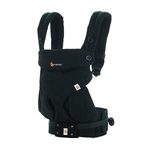 エルゴベビー(Ergobaby) 抱っこひも 前向き おんぶ 装着簡単 360/ピュアブラック スリーシックスティ 【日本正規品保証付】 CREGBC360ABLK