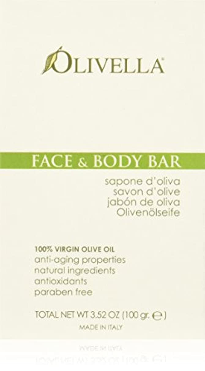 皮熱省略Face and Body Bar - 3.52 oz by Olivella