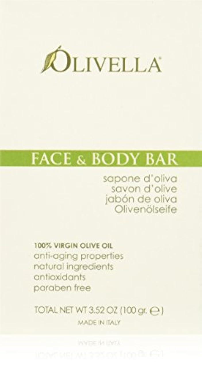 平和枯渇するパークFace and Body Bar - 3.52 oz by Olivella