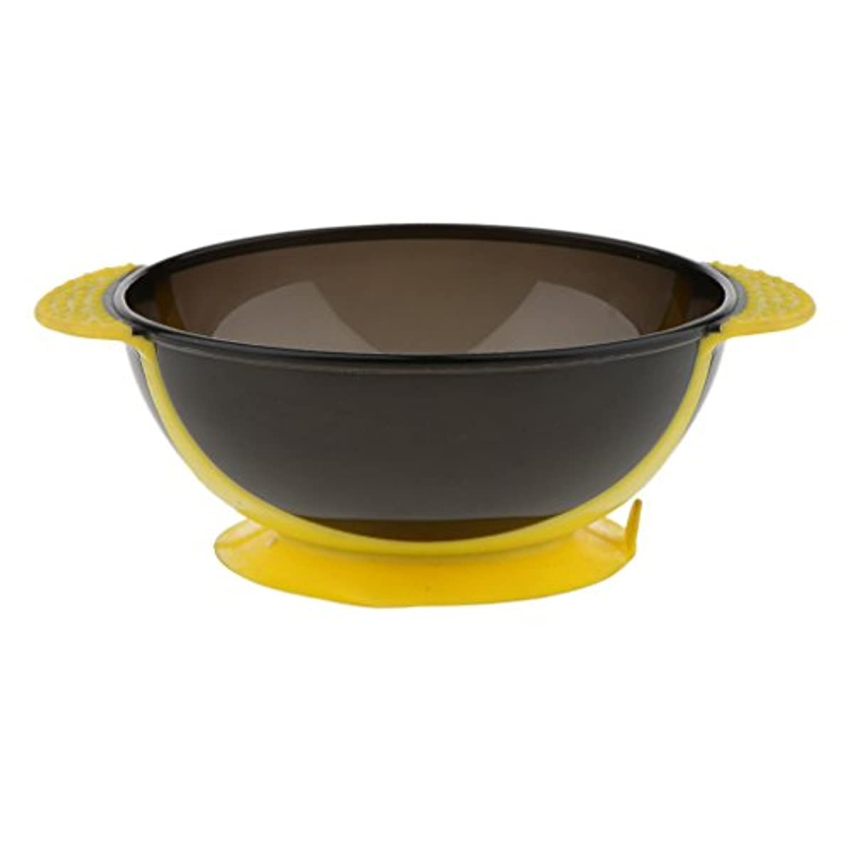 工業化する浪費半島Toygogo ヘアカラー ミキシングボウル ヘアダイボウル 染料 色合い 髪染めミント 吸引ベース 3色選べる - 黄
