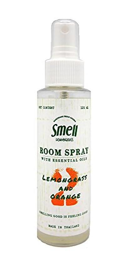 物理学者冷淡ないわゆる(スメル レモングラス)Smell Lemongrass ルーム スプレー 120ml (レモングラス & オレンジ)