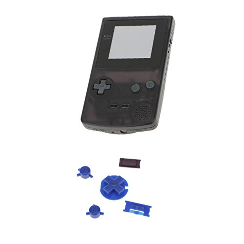 Perfk 交換用 フル シェル ハウジングケース  A Bボタン ゲーム ボーイ カラーGBC 適用