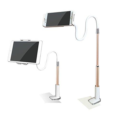 Muka タブレットipad スタンド 長さ調整 アーム アイパッド ホルダー ごろ寝 スタンド 寝ながらスタンド 強力 モニタースタンド ipad mini アーム タブレット固定アーム android ipad air2 ipad mini 4 フレキシブルアーム タブレットスタンド
