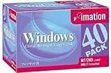 イメーション 3.5インチ2HD フロッピーディスク DOS40枚 MF2HDWIN40KS Windwosフォーマット