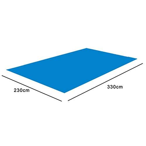 Viugreum プール下マット プールの下に敷くシート 水泳マット 滑り止め 長方形 プール 大型 家庭用