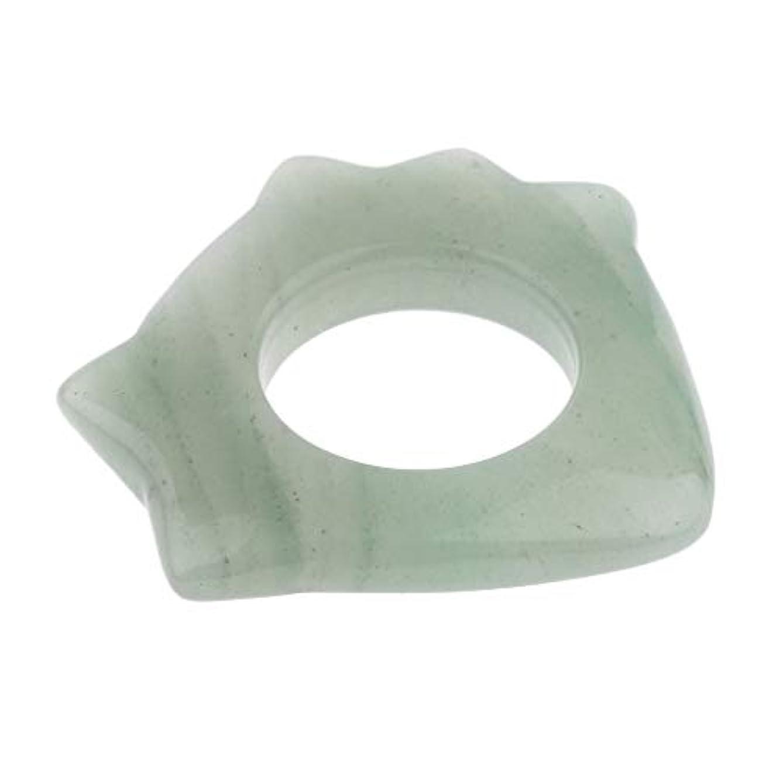 フレット弁護扇動かっさプレート 高品質 天然翡翠 使いやすい 顔 ボディ マッサージ 滑らか 健康 贈り物 5種選ぶ - 1